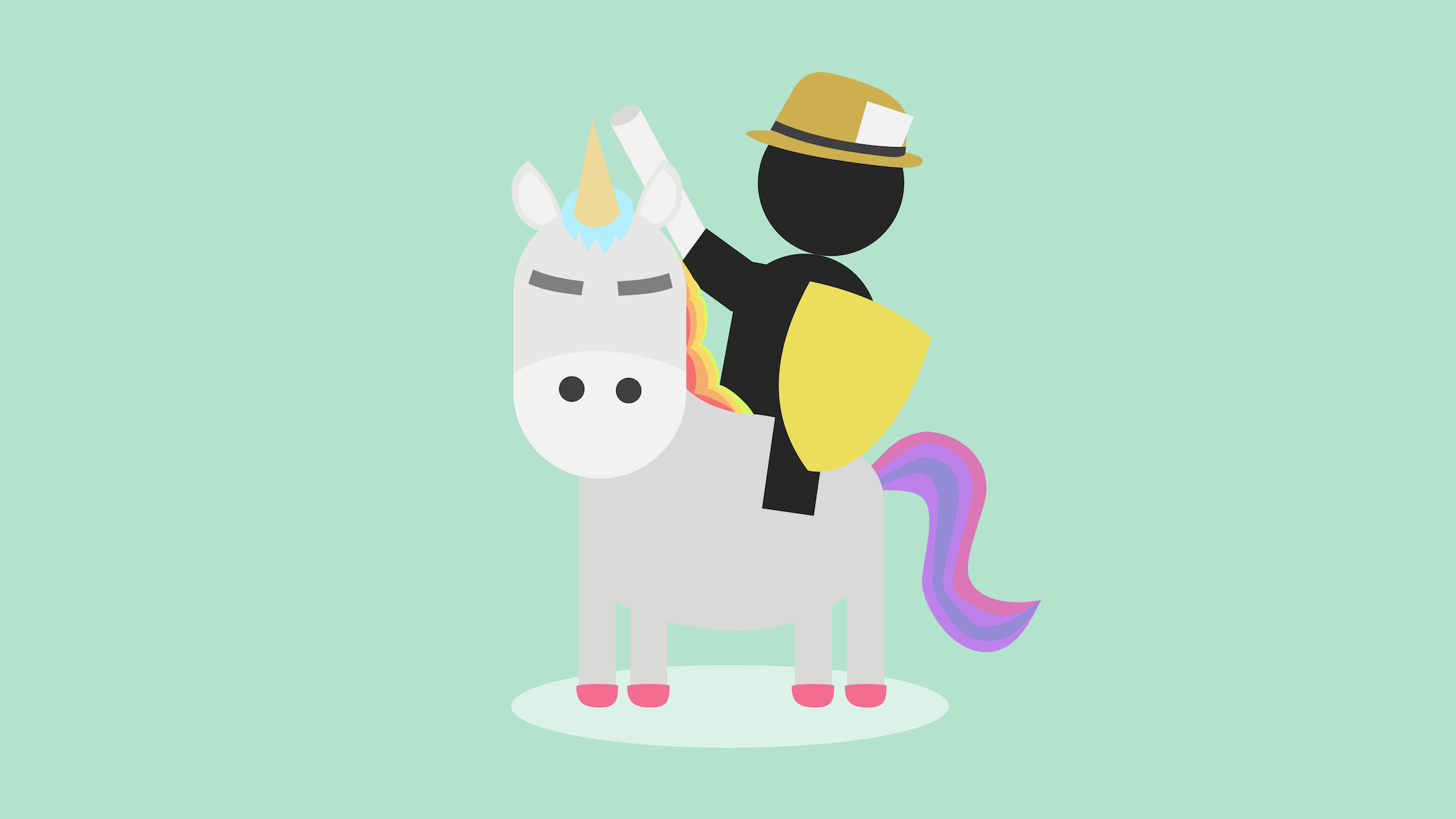 Traditional reporter rides a disgruntled data unicorn