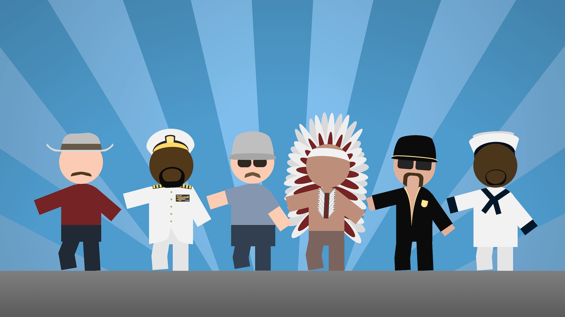 It's the Village People