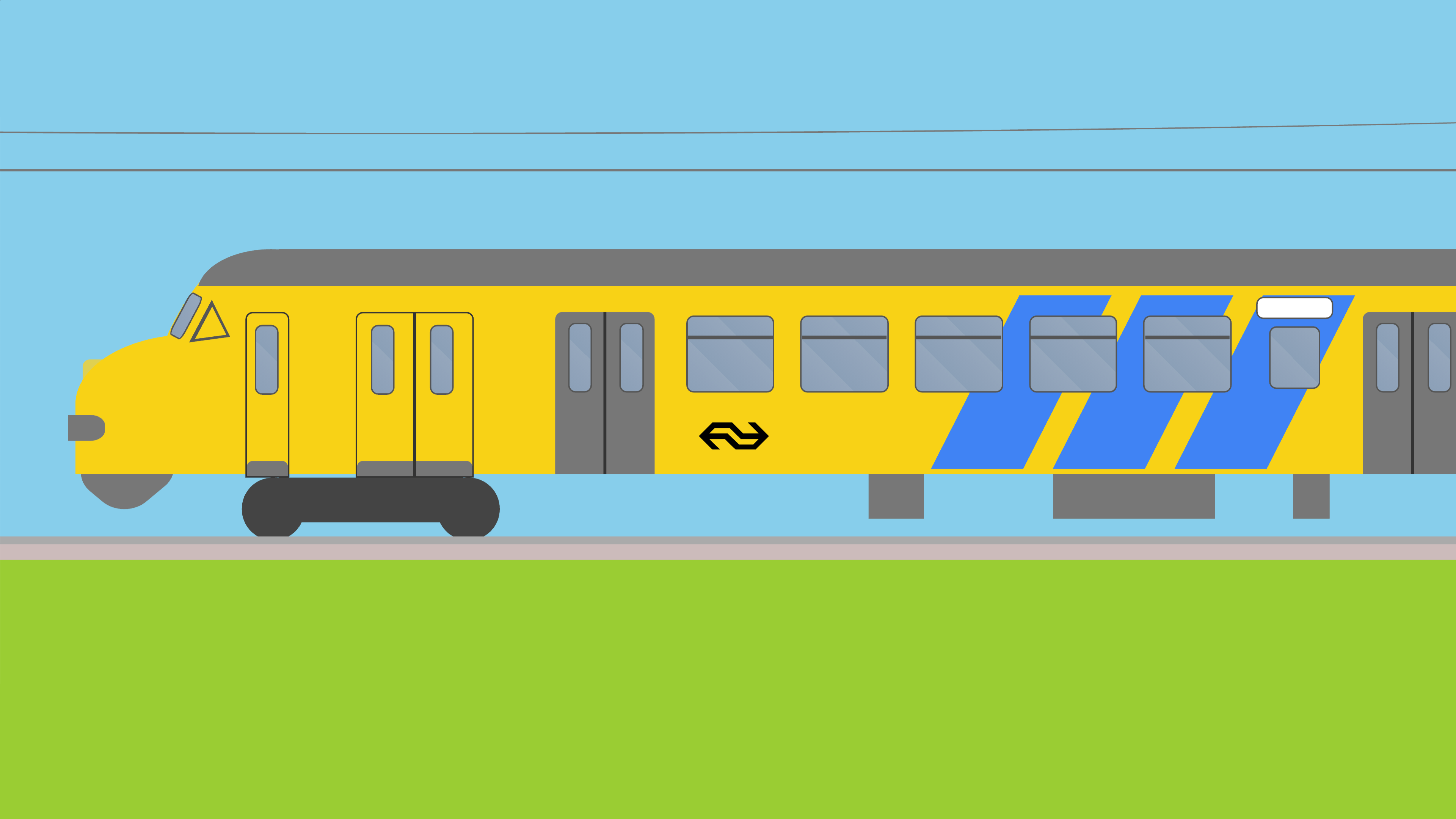 Screenshot of a CSS train